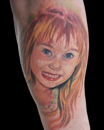 Tattoos - Little Girl - 55390