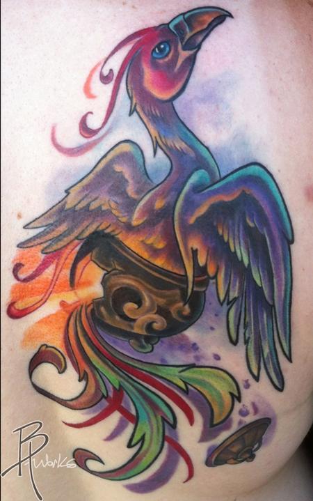 Tattoos - Phoenix - 69018