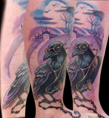 Tattoos - Raven - 73741