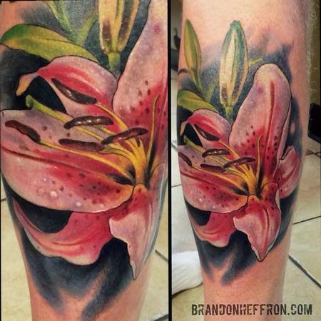 Tattoos - Lily - 111934