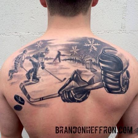 Tattoos - Hockey - 100060