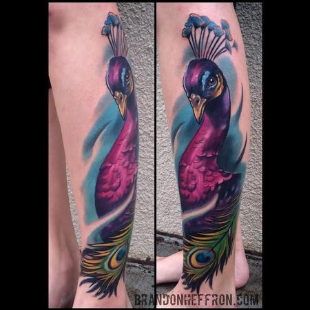 Tattoos - Peacock - 109181
