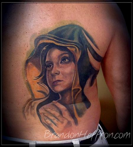 Tattoos - Mother Mary Portrait - 78163