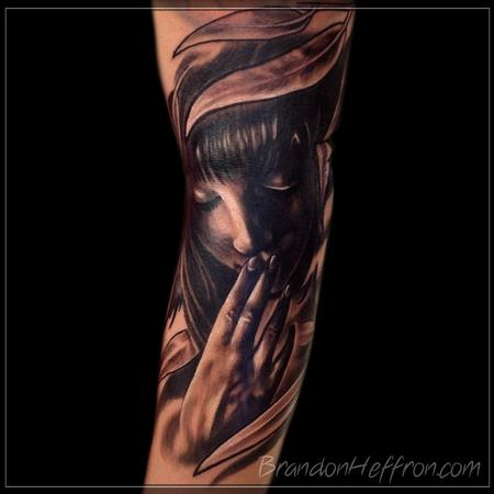 Tattoos - Female Portrait - 78166