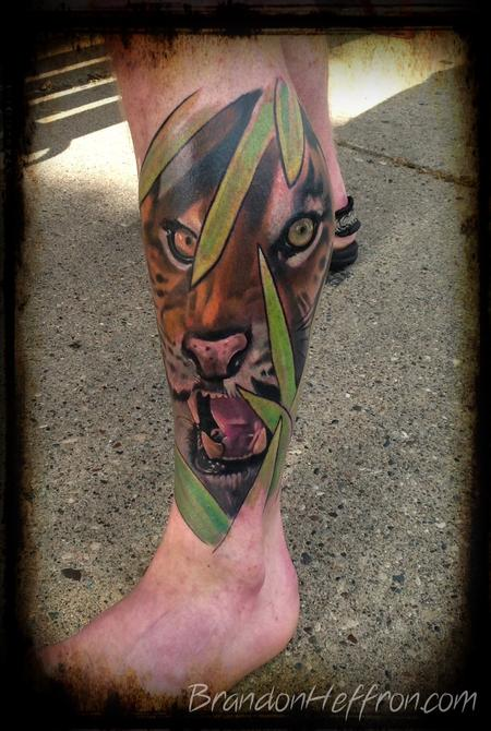 Tattoos - Tiger piece - 78273