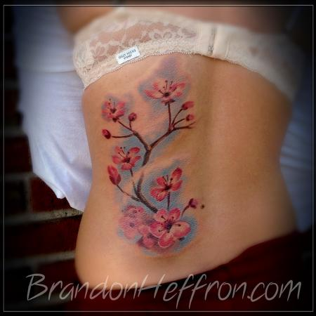 Tattoos - Cherry blossoms - 80565
