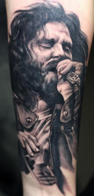 Murran Billi - Jim Morrison Tattoo