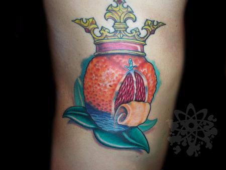 Tattoos - blood orange - 63925