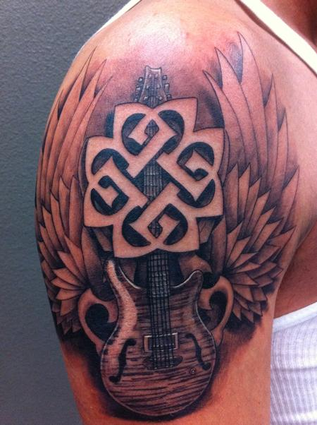 Tattoos - Guitar - 67760