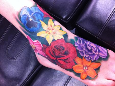 Tattoos - Flowers - 67759