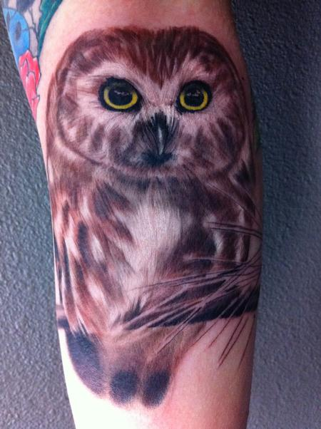 Tattoos - Owl Tattoo - 67387