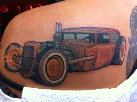 Tattoos - Rat Rod - 68602