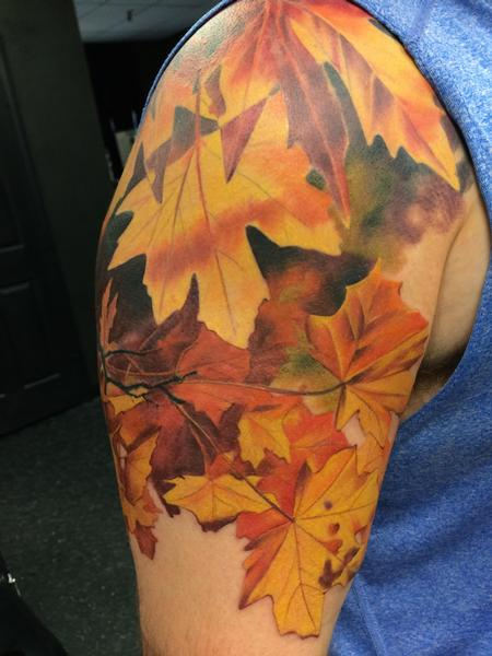 Tattoos - Autumn Leaves - 104949