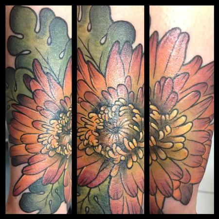 Tattoos - autumnal flower - 86545
