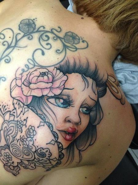 Tattoos - geisha - 92091