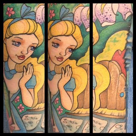 Tattoos - alice in wonderland - 104191
