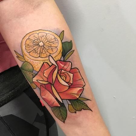 Tattoos - Lemon n'roses - 137774