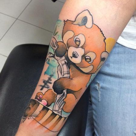 Tattoos - ginger panda - 104200