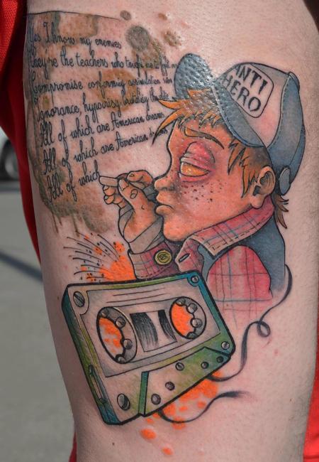 Tattoos - student - 91558