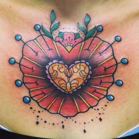 Tattoos - voodoo heart - 82319