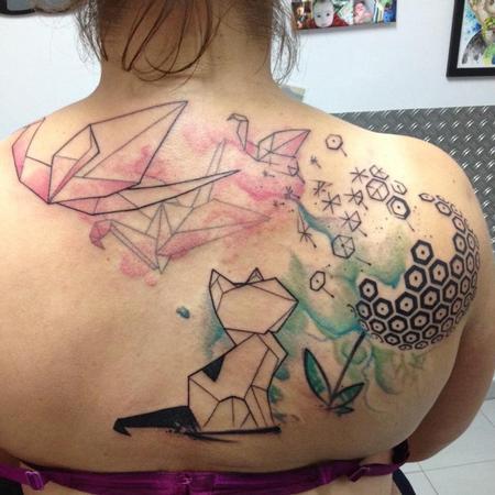 Tattoos - Origami story - 104775