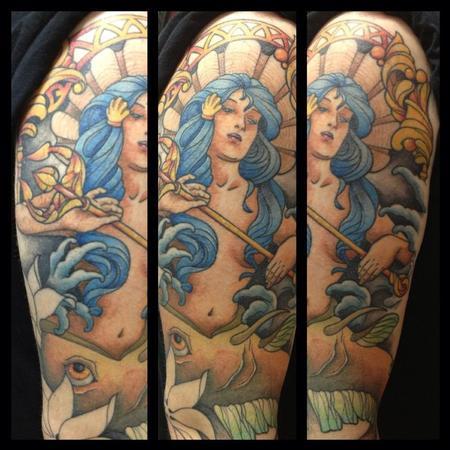 Tattoos - Mermaid - 87605