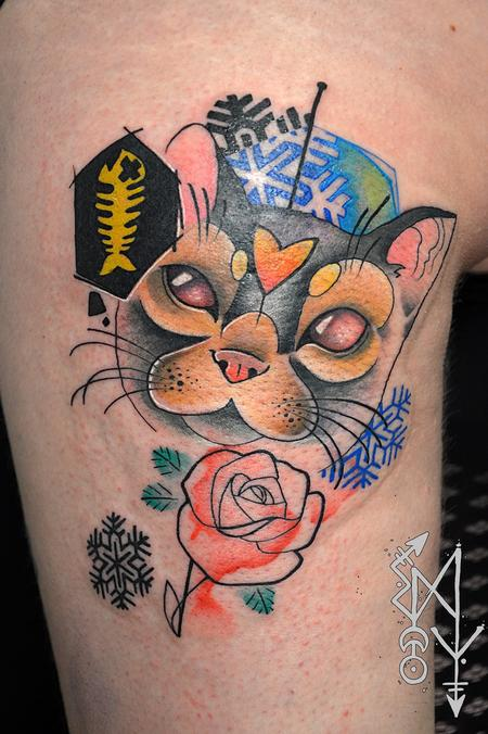 Tattoos - Lovecat - 115051
