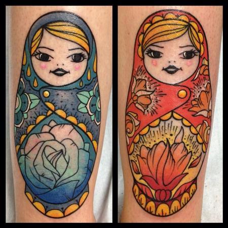 Tattoos - Matriochka - 89431