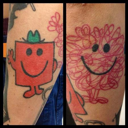 Tattoos - Mr messy and mr strong - 91174