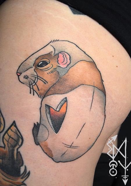 Tattoos - Guinea pig - 115064