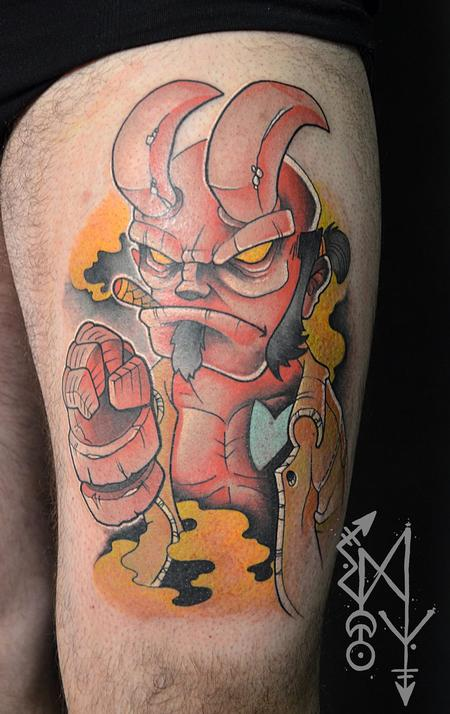 Tattoos - Hellboy - 116338