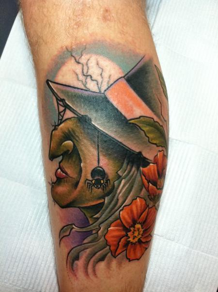 Tattoos - Witch Tattoo - 70174