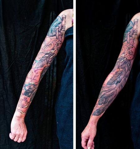 Tattoos - feathers - 95136