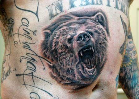 Tattoos - Grizzly bear - 61023