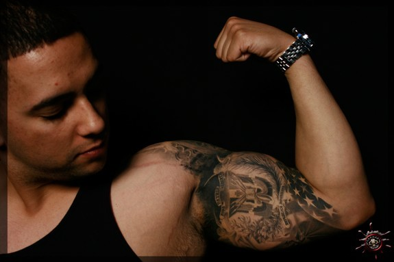 Tattoos - Anthony's half sleeve - 50977