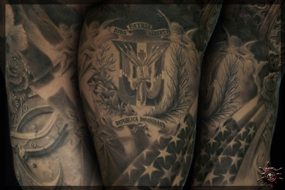Tattoos - Anthony's half Sleeve - 50979