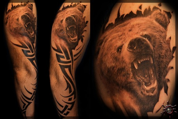 Tattoos - Grizzly - 51951