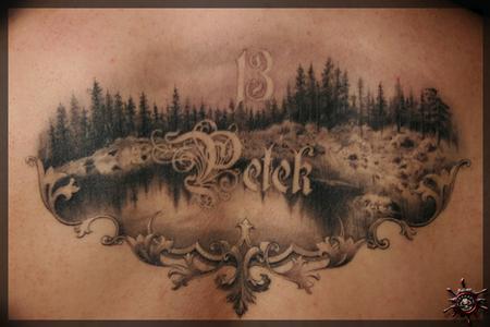 Tattoos - Petek 13 = Friday 13th her day of birth [Georgina Katona] - 58207