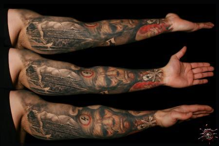 Tattoos - Full Sleeve Inside Part [Salvatore Magro] - 58464
