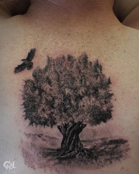 Tattoos - Olive Tree Tattoo - 129491