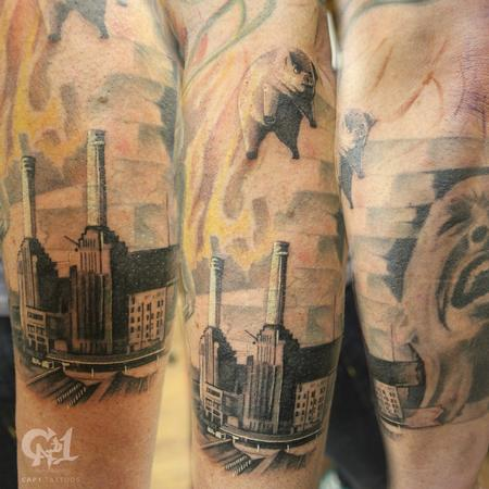 Tattoos - Pink Floyd The Wall Sleeve - 123499