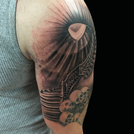 Tattoos - Staircase Sleeve  - 121964