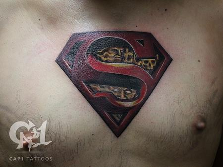 Tattoos - Superman - 122808