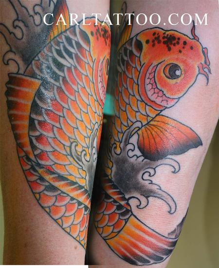 Tattoos - koifish - 84102