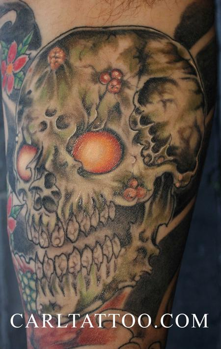 Tattoos - skulltattoo - 80021