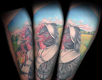 Tattoos - Chicken Nun - 32111