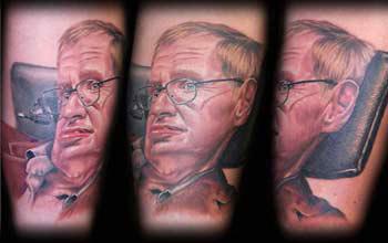Tattoos - Stephen Hawking - 33293