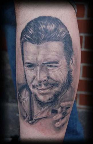Tattoos - Ernesto CHE Guevara portrait - 33369