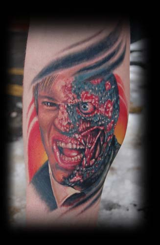 Tattoos - Two face - 33371