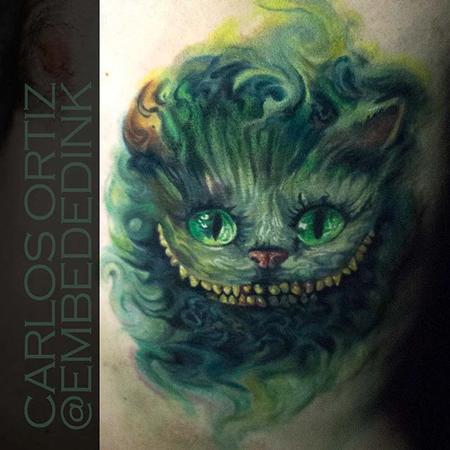 Tattoos - cheshire cat - 132035